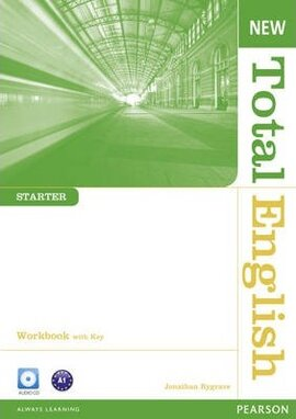New Total English Starter Workbook  + Key + CD (робочий зошит) - фото книги