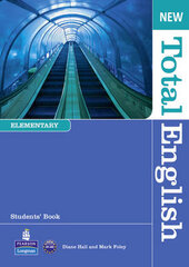 New Total English Student Book with ActiveBook, and MyLab (підручник) - фото обкладинки книги