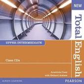 New Total English Upper-Intermediate CD (аудіодиск) - фото обкладинки книги