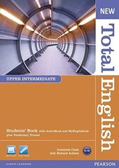 New Total English Upper-Intermediate Student's Book with Active Book + MyLab (підручник) - фото обкладинки книги