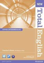 New Total English Upper-Intermediate Teacher's Book + CD (книга вчителя) - фото обкладинки книги