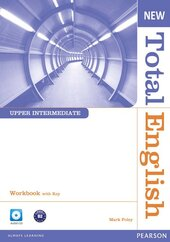 New Total English Upper-Intermediate Workbook  + Key + CD - фото обкладинки книги