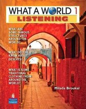 New What a World Listening 1: Amazing Stories from Around the Globe - фото обкладинки книги