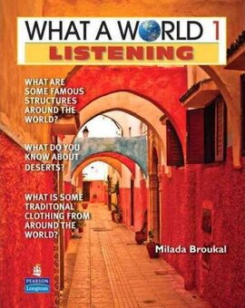 New What a World Listening 1: Amazing Stories from Around the Globe - фото книги