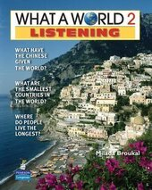New What a World Listening 2: Amazing Stories from Around the Globe - фото обкладинки книги