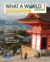 New What a World Reading 1: Amazing Stories from Around the Globe - фото обкладинки книги