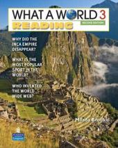 New What a World Reading 3: Amazing Stories from Around the Globe - фото обкладинки книги