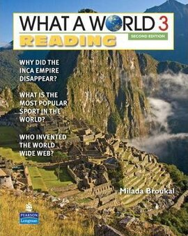 New What a World Reading 3: Amazing Stories from Around the Globe - фото книги