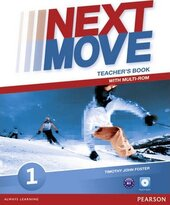 Next Move 1 Teacher's Book + CD - фото обкладинки книги