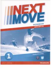 Next Move 1 Workbook + CD - фото обкладинки книги