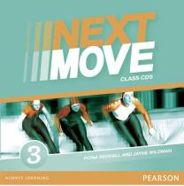 Книга Next Move 3 CD (аудіодиск)