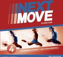 Книга Next Move 4 CD (аудіодиск)