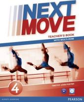 Next Move 4 Teacher's Book + CD - фото обкладинки книги
