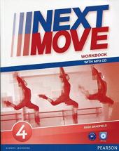 Next Move 4 Workbook + CD - фото обкладинки книги