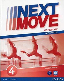 Next Move 4 Workbook + CD - фото книги