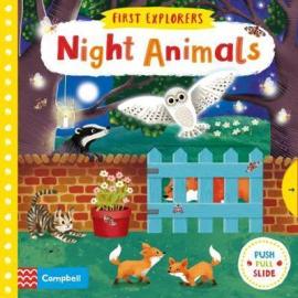 Night Animals - фото книги