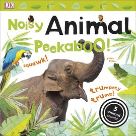 Noisy Animal Peekaboo! - фото книги