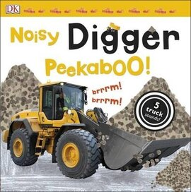 Noisy Digger Peekaboo! - фото книги