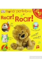Noisy Peekaboo! Roar! Roar! - фото обкладинки книги
