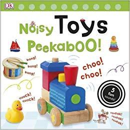 Noisy Toys Peekaboo! - фото книги
