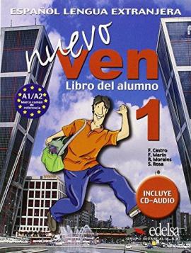 Nuevo Ven 1. Libro del alumno + Audio CD - фото книги
