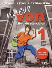Nuevo Ven 1. Libro del ejercicios + Audio CD - фото обкладинки книги