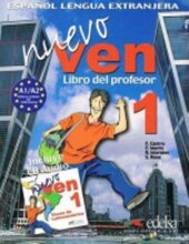 Nuevo Ven 1. Libro del profesor + CD audio - фото обкладинки книги