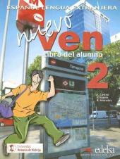 Nuevo Ven 2. Libro del alumno + Audio CD - фото обкладинки книги