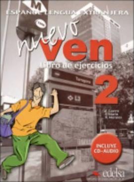 Nuevo Ven 2. Libro del ejercicios + Audio CD - фото книги