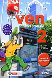 Nuevo Ven 2. Libro del profesor + CD audio - фото обкладинки книги