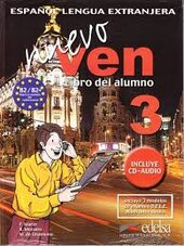 Nuevo Ven 3. Libro del alumno + Audio CD - фото обкладинки книги