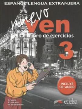 Nuevo Ven 3. Libro del ejercicios + Audio CD - фото книги