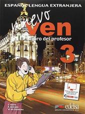 Nuevo Ven 3. Libro del profesor + CD audio - фото обкладинки книги