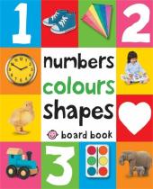 Numbers, Colours, Shapes. Board Book - фото обкладинки книги