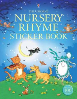 Nursery Rhyme Sticker Book - фото книги
