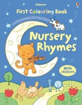 Nursery Rhymes. Colouring Book with Stickers - фото обкладинки книги