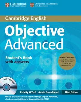 Objective Advanced 3rd edition. Student's Book + Answers + CD-ROM + Class Audio CDs - фото книги