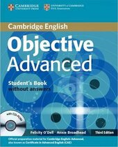 Objective Advanced 3rd edition. Student's Book without Answers + CD-ROM - фото обкладинки книги