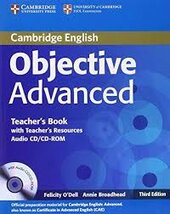 Objective Advanced 3rd edition. Teacher's Book with Teacher's Resources Audio CD/CD-ROM - фото обкладинки книги