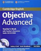 Objective Advanced 3rd edition. Teacher's Book with Teacher's Resources Audio CD/CD-ROM - фото обкладинки книги