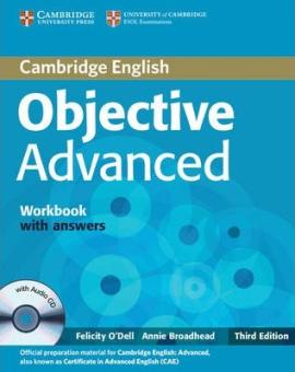 Objective Advanced 3rd edition. Workbook + Answers + Audio CD - фото книги