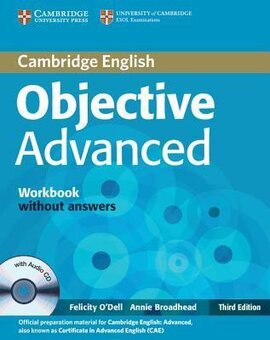 Objective Advanced 3rd edition. Workbook without Answers + Audio CD - фото книги