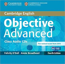 Аудіодиск Objective Advanced Class Audio CDs
