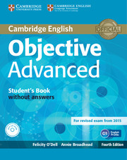 Підручник Objective Advanced Student's Book without Answers
