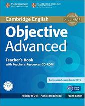 Objective Advanced Teacher's Book with Teacher's Resources - фото обкладинки книги