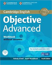 Objective Advanced Workbook without Answers - фото обкладинки книги