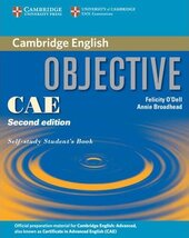 Objective CAE 2nd edition. Self-study Student's Book - фото обкладинки книги
