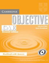 Objective CAE 2nd edition. Workbook with answers - фото обкладинки книги