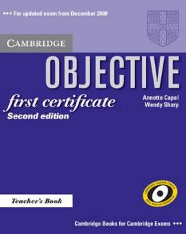 Objective FCE 2nd edition. Teacher's Book - фото книги