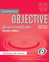 Objective FCE 2nd edition. Workbook with answers - фото обкладинки книги